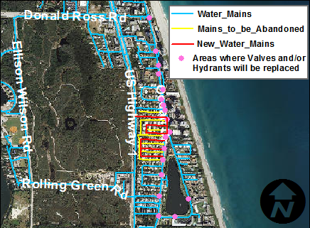 Juno Beach Distribution System Improvements (W1613)