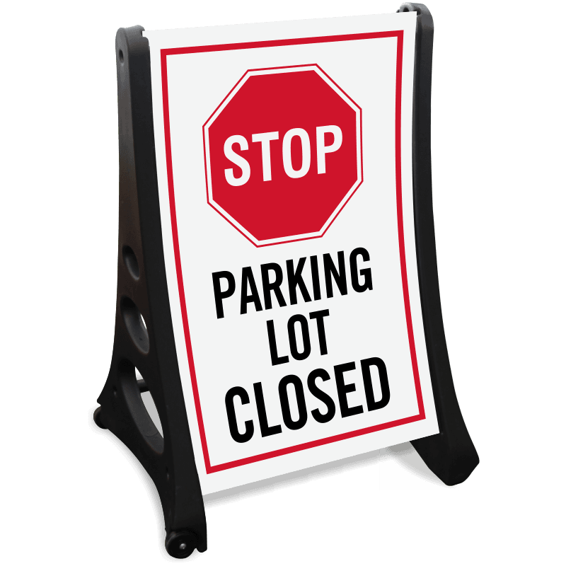 stop-parking-lot-closed-sidewalk-sign-k-roll-1103