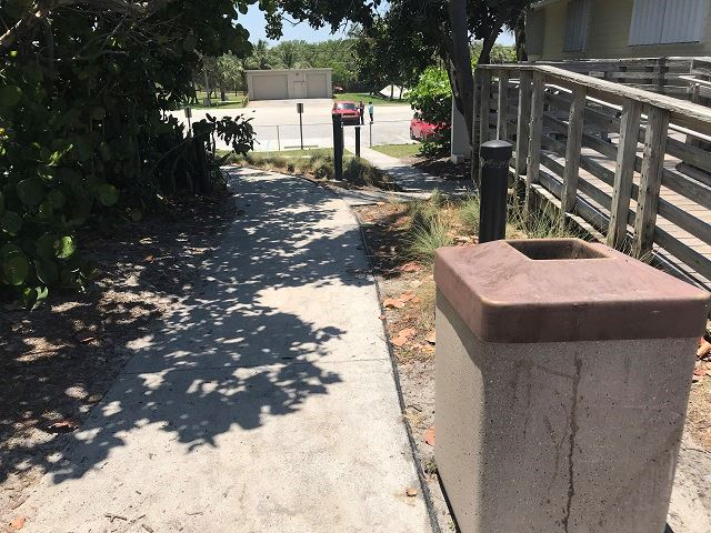 Walkway to Parking Lot