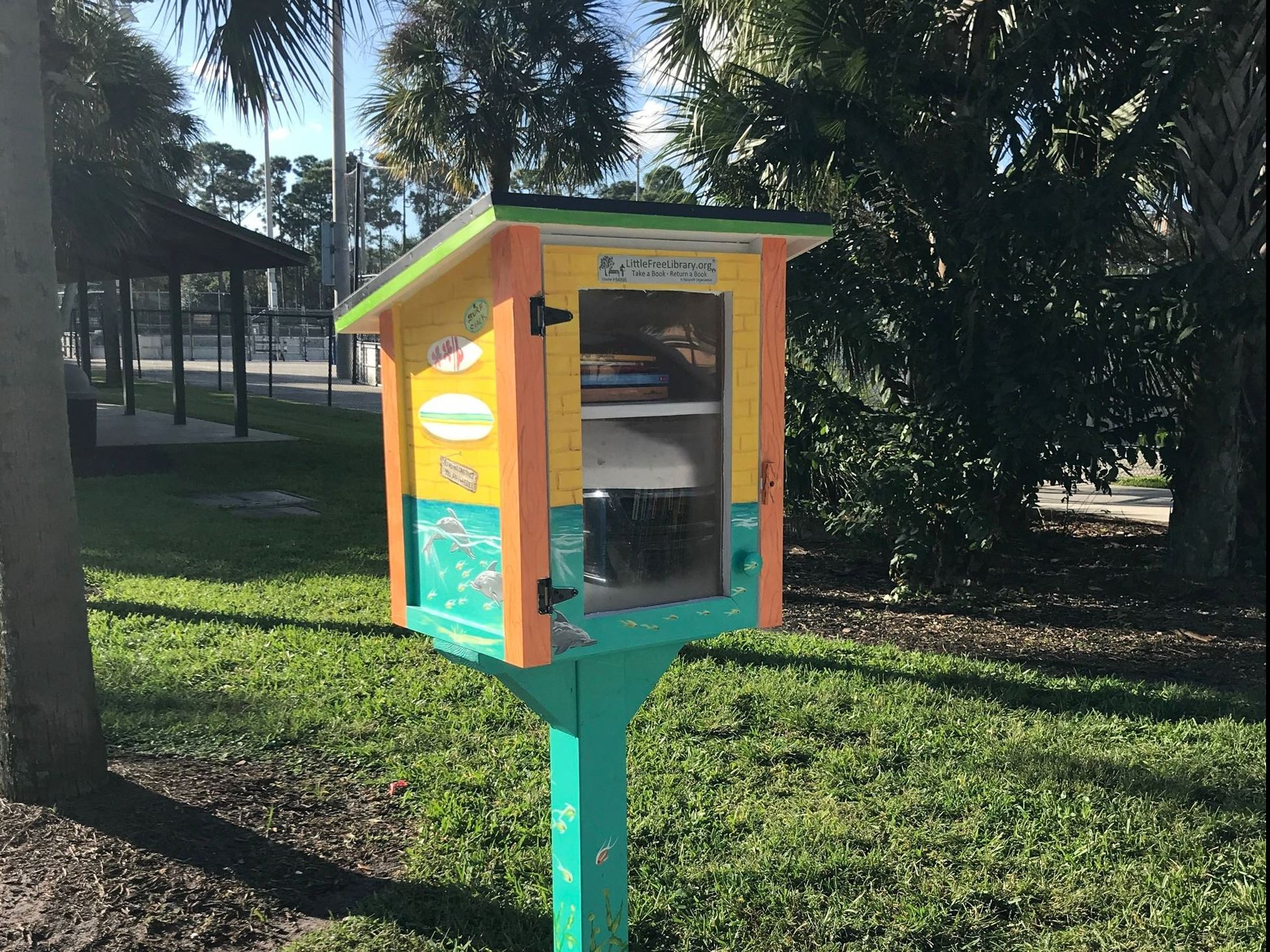 Little Free Library at Abacoa Community Park
