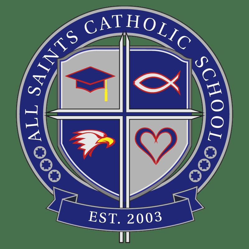 All Saints Catholic School Logo Opens in new window
