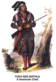 Tuko-See-Mathla a Seminole Chief