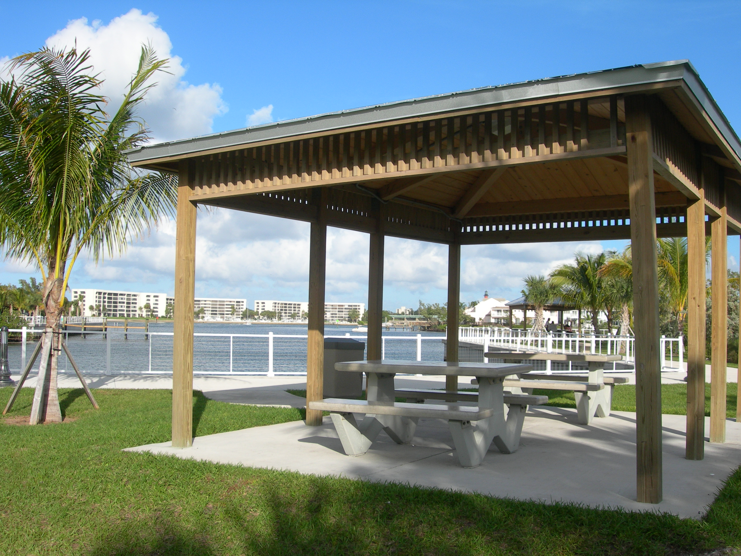 Pavilion at Sawfish Bay Park