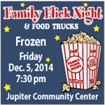 Frozen at Family Flick Night