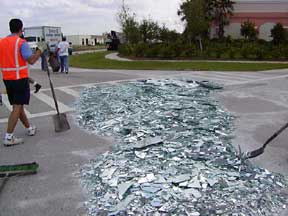 Glass Spill