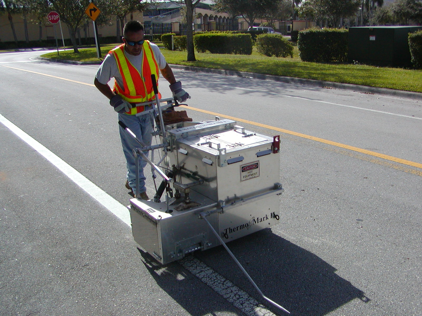 Roadway Striping